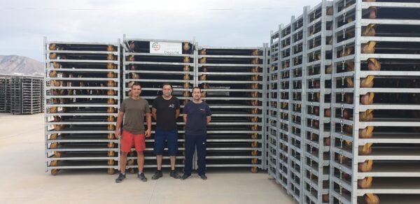 Almeria depot network depots europs container centralen working together container bases posts spain almeria