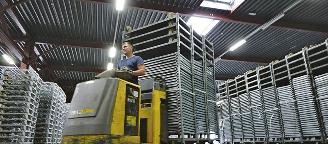 Handling at a CC depot